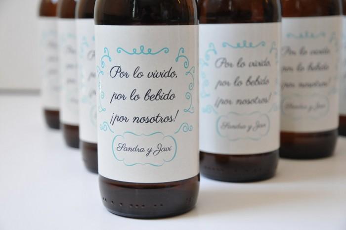 Cervezas como detalle para invitados