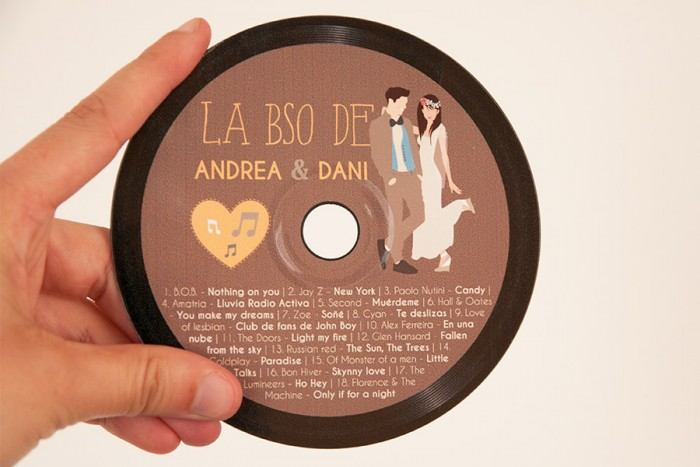 Regalo invitados Andrea & Dani
